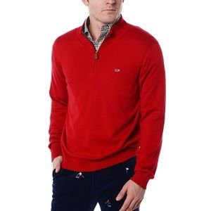 Men's Quarter-Zip Pullover by Vineyard Vines